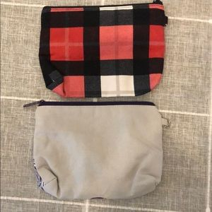 thirty-one Bags - Two brand new never used small zipper pouches.